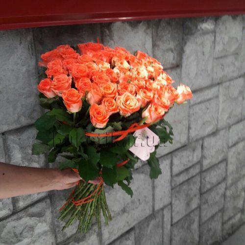 Фото товару 51 троянда «Вау»