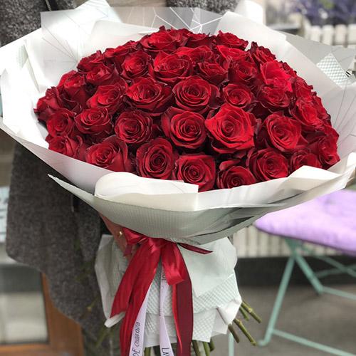 букет троянд фото доставки