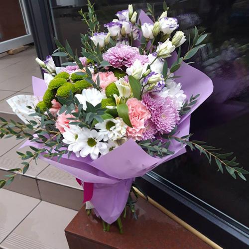 Букет «Прекрасне» хризантеми