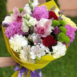 """Букет """"Фарби осені"""" мікс квітів"""