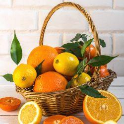 Кошик вітамінів із цитрусів
