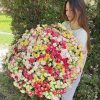 фото букета 201 троянда спрей