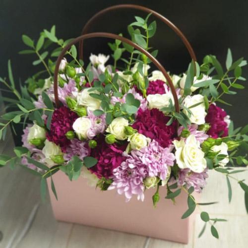 букет Гламурна сумочка